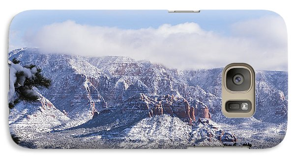 Galaxy Case featuring the photograph Snow Blanket by Laura Pratt