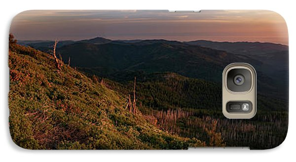 Galaxy Case featuring the photograph Snow Camp Lookout by Leland D Howard