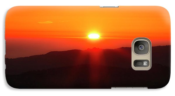Galaxy Case featuring the photograph Snow Camp View 2 by Leland D Howard