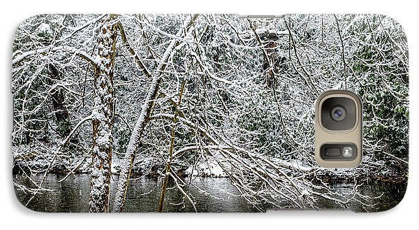 Galaxy Case featuring the photograph Snow Cranberry River by Thomas R Fletcher