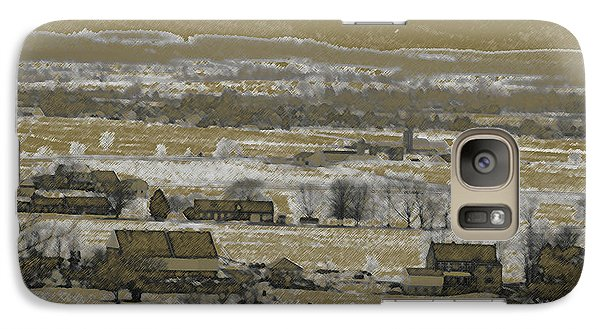 Galaxy Case featuring the photograph Snow In The Valley by Vilas Malankar