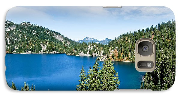 Galaxy Case featuring the photograph Snow Lake by Jeff Goulden