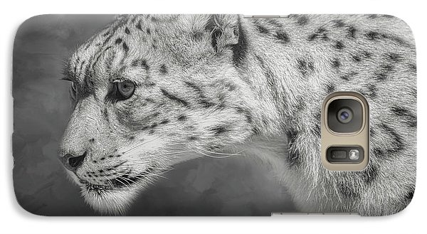 Snow Leopard Galaxy S7 Case