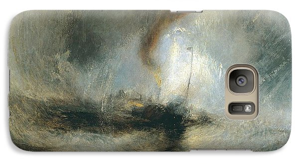 Galaxy Case featuring the painting Snow Storm by Joseph Mallord William Turner