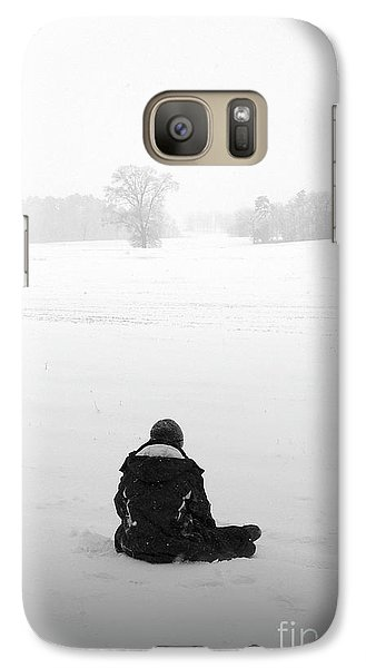 Galaxy Case featuring the photograph Snow Wonder by Brian Jones