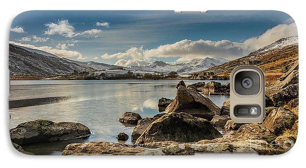 Galaxy Case featuring the photograph Snowdon From Llynnau Mymbyr by Adrian Evans