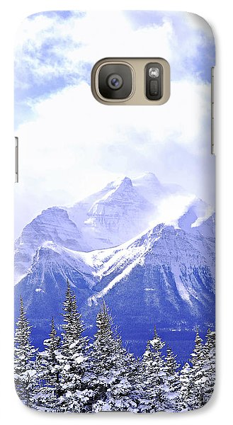 Mountain Galaxy S7 Case - Snowy Mountain by Elena Elisseeva