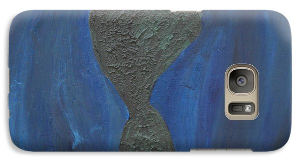 Galaxy Case featuring the painting So  Alone In Your Strange World by Lola Connelly
