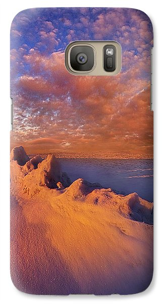 Galaxy Case featuring the photograph So It Begins by Phil Koch