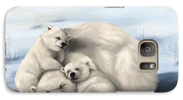 Galaxy Case featuring the painting So Much Love by Veronica Minozzi