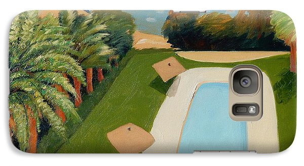 Galaxy Case featuring the painting So Very California by Gary Coleman