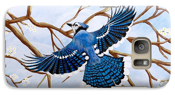 Soaring Blue Jay  Galaxy S7 Case