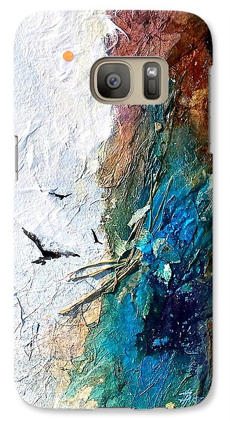 Galaxy Case featuring the painting Soaring by Helen Harris