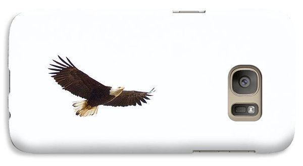 Galaxy Case featuring the photograph Soaring High 0881 by Michael Peychich
