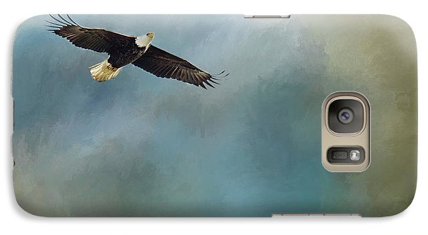 Galaxy Case featuring the photograph Soaring by Rebecca Cozart