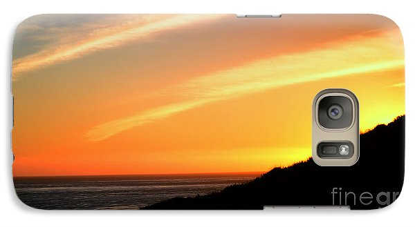 Galaxy Case featuring the photograph Socal Sunet by Clayton Bruster