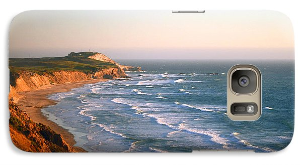 Galaxy Case featuring the photograph Socal Sunset Ocean Front by Clayton Bruster