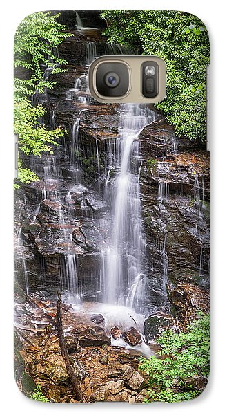 Galaxy Case featuring the photograph Socco Falls by Stephen Stookey