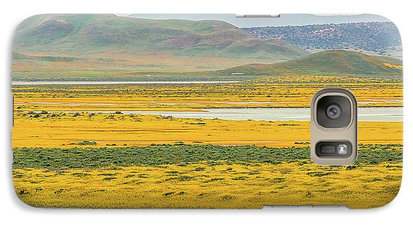 Galaxy Case featuring the photograph Soda Lake To Caliente Range by Marc Crumpler