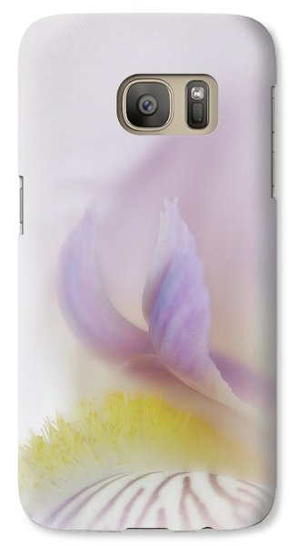 Galaxy Case featuring the photograph Soft And Delicate Iris by David and Carol Kelly