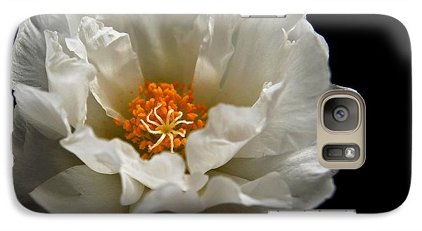 Galaxy Case featuring the photograph Soft And Pure by Judy Vincent