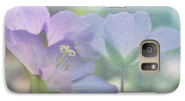 Galaxy Case featuring the photograph Soft Blue by Ann Lauwers