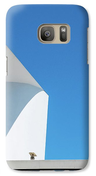 Soft Blue Galaxy S7 Case