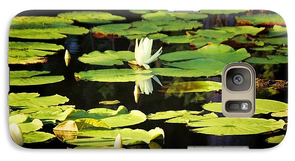 Galaxy Case featuring the photograph Soft Morning Light by Jan Amiss Photography