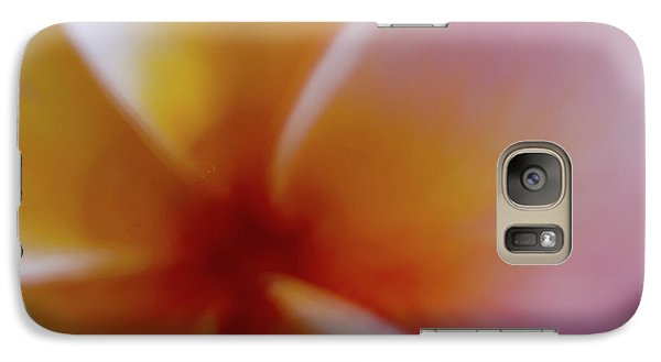 Galaxy Case featuring the photograph Soft Plumeria by Roger Mullenhour