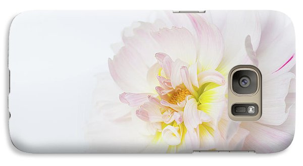 Galaxy Case featuring the photograph Soft Ruffles by Mary Jo Allen