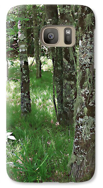 Galaxy Case featuring the photograph Soft Trees by Shari Jardina