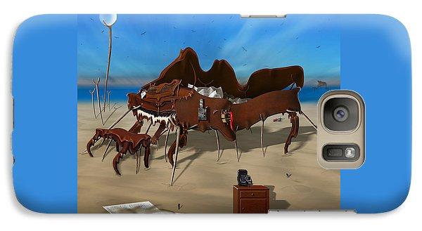 Softe Grand Piano Se Sq Galaxy S7 Case by Mike McGlothlen