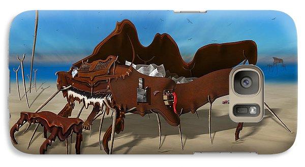Buzzard Galaxy S7 Case - Softe Grand Piano Se Sq by Mike McGlothlen