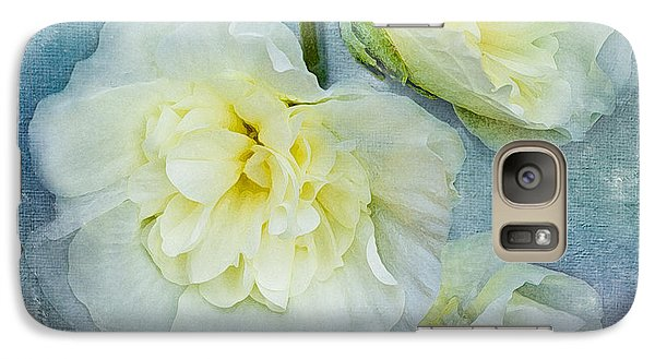 Galaxy Case featuring the photograph Softly In Blue by Betty LaRue