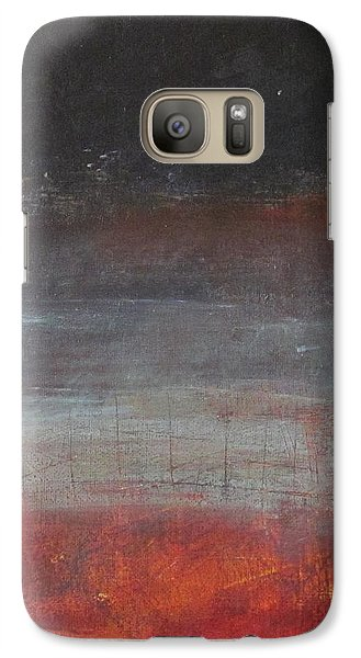 Galaxy Case featuring the painting Solace by Nicole Nadeau