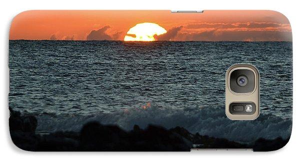 Solar Splash Down Galaxy S7 Case by Suzette Kallen