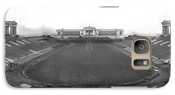 Soldier Field Galaxy S7 Case - Soldier Field In Chicago by Underwood Archives