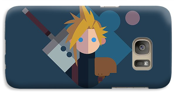 Galaxy Case featuring the digital art Soldier by Michael Myers