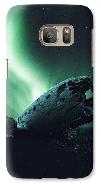 Airplanes Galaxy S7 Case - Solheimsandur Crash Site by Tor-Ivar Naess