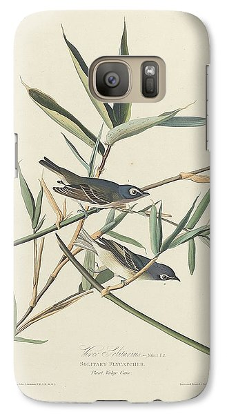 Flycatcher Galaxy S7 Case - Solitary Flycatcher by Dreyer Wildlife Print Collections