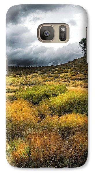 Galaxy Case featuring the photograph Solitary Pine by Frank Wilson