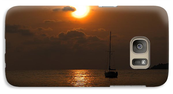 Galaxy Case featuring the photograph Solitude by Jim Walls PhotoArtist