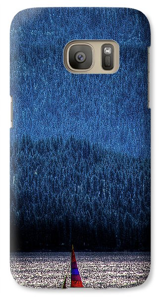 Galaxy S7 Case featuring the photograph Solitude On Priest Lake by David Patterson