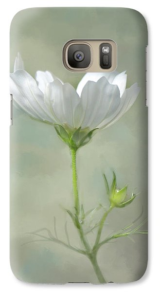 Galaxy Case featuring the photograph Solo Cosmo by Ann Bridges