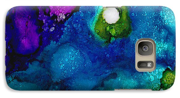 Galaxy Case featuring the painting Solo In The Stream by Angela Treat Lyon
