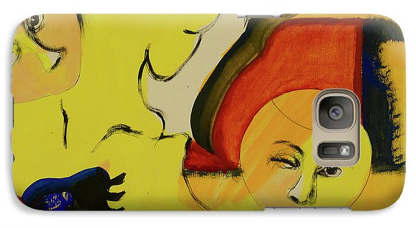 Galaxy Case featuring the painting Solstice by Paul McKey