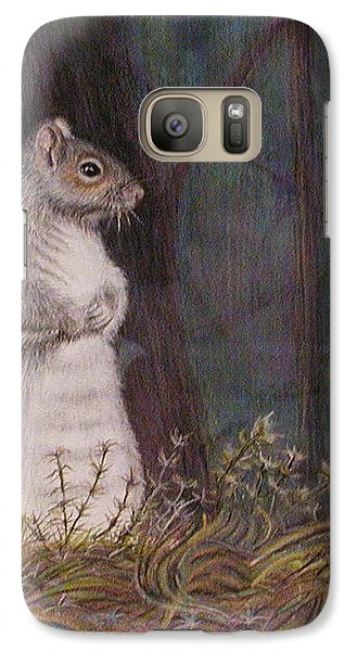 Galaxy Case featuring the painting Some Nutty Guy by Martha Ayotte