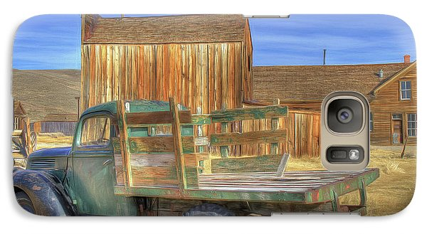 Galaxy Case featuring the photograph Somethin' 'bout A Truck by Donna Kennedy