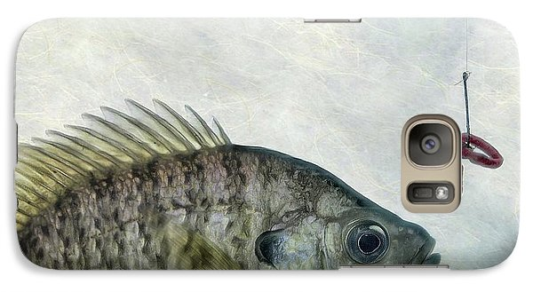 Galaxy Case featuring the photograph Something Fishy by Mark Fuller