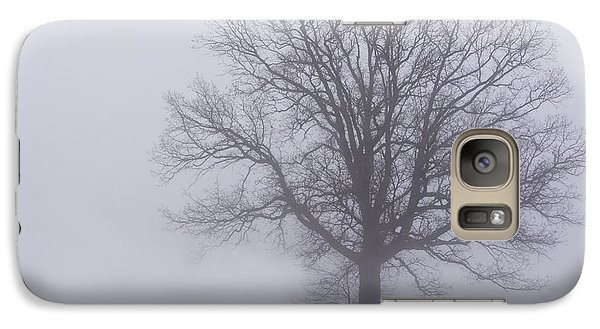 Galaxy Case featuring the photograph Sometime We Need The Fog by Skip Tribby